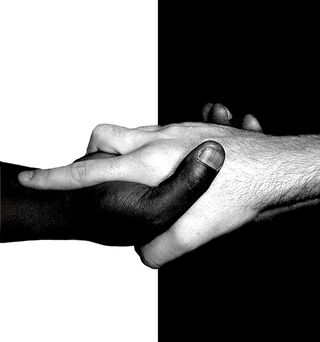 Black-white-hands