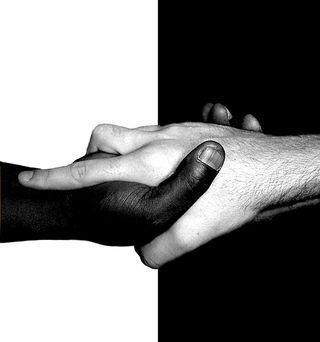 Black-white-hands